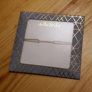 Delicate Pave Wishing Bracelet - Gold